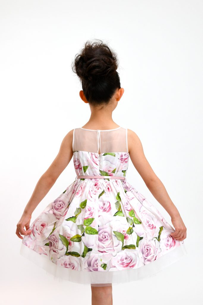 rose print dress8