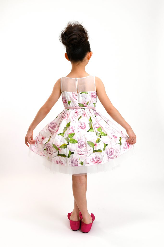 rose print dress7