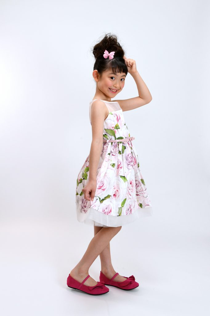 rose print dress5