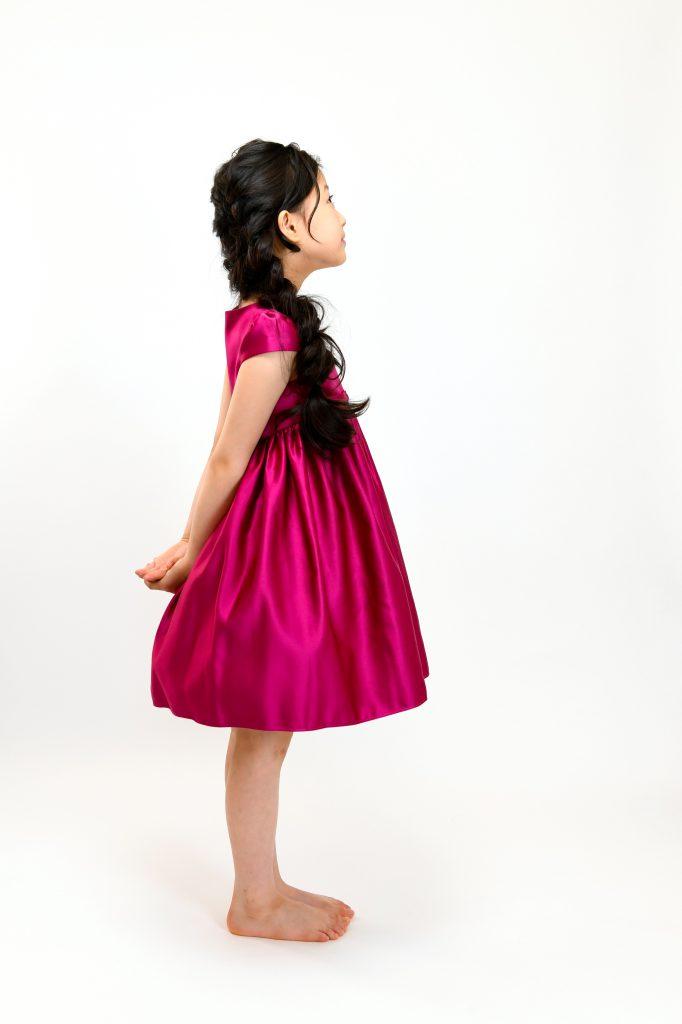 wine red dress3
