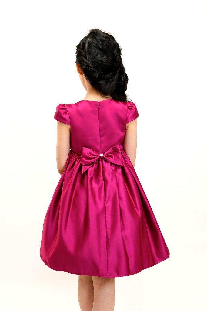 wine red dress6