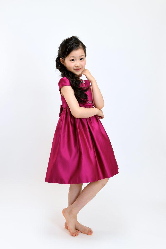 wine red dress12