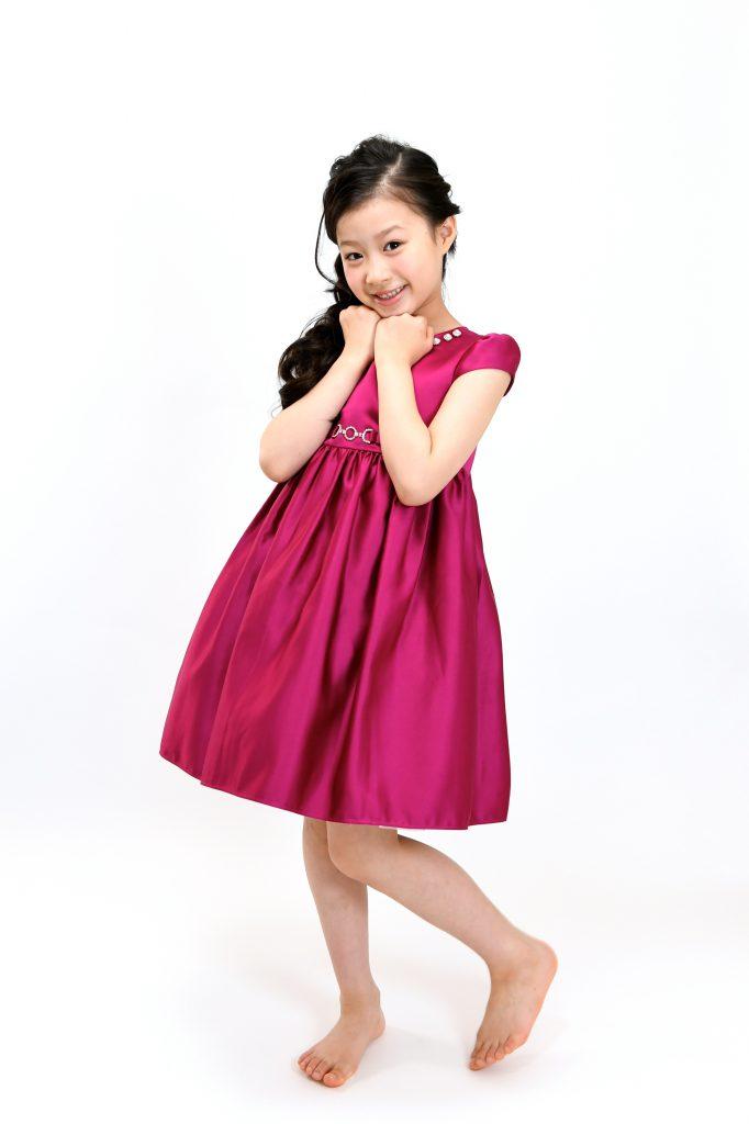wine red dress11