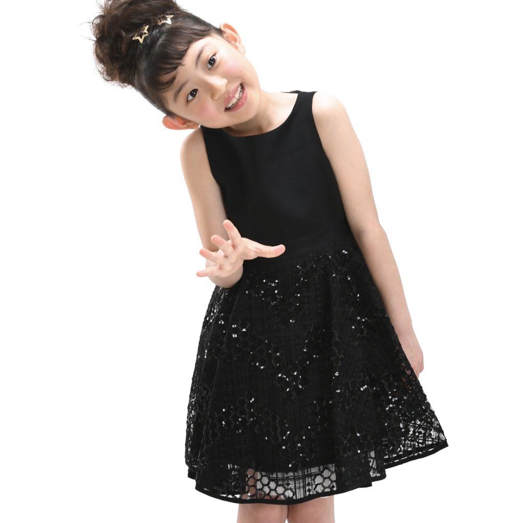 black sleeve dress