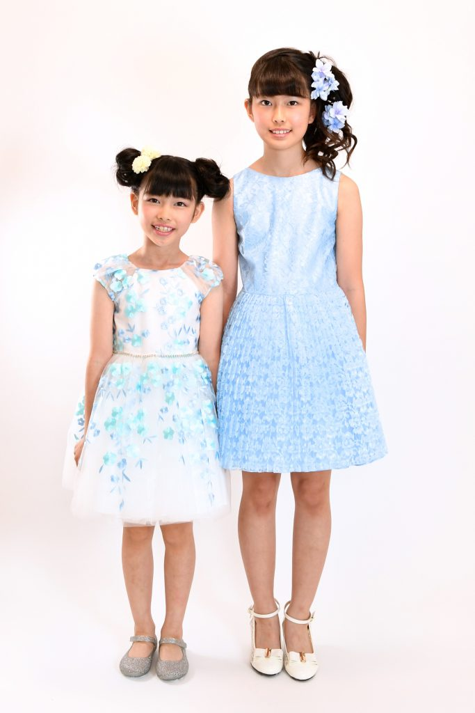 white blue dress8