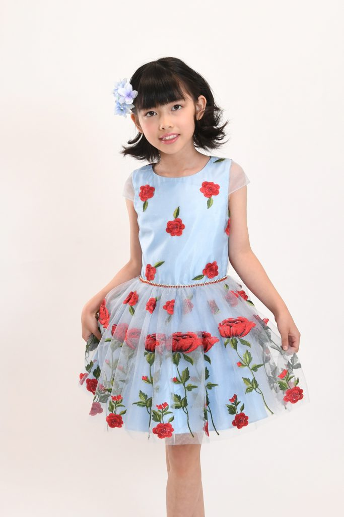 blue rose dress1