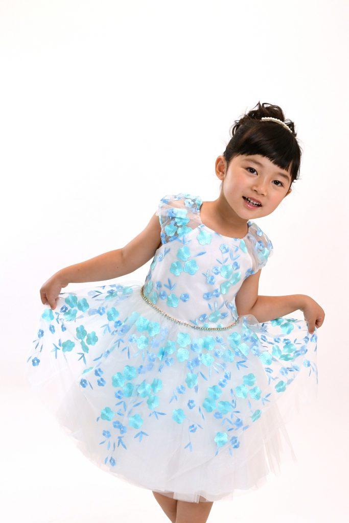 blue flower dress2