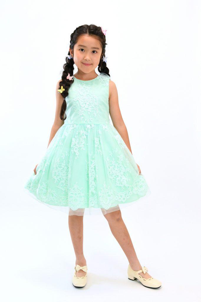 green dress10