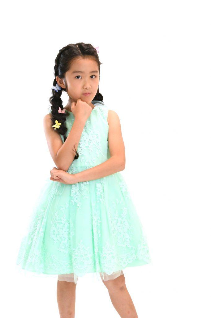 green dress11